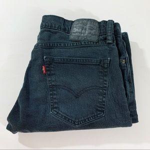 Vintage Black 511 High Waisted Levi's Denim Jeans